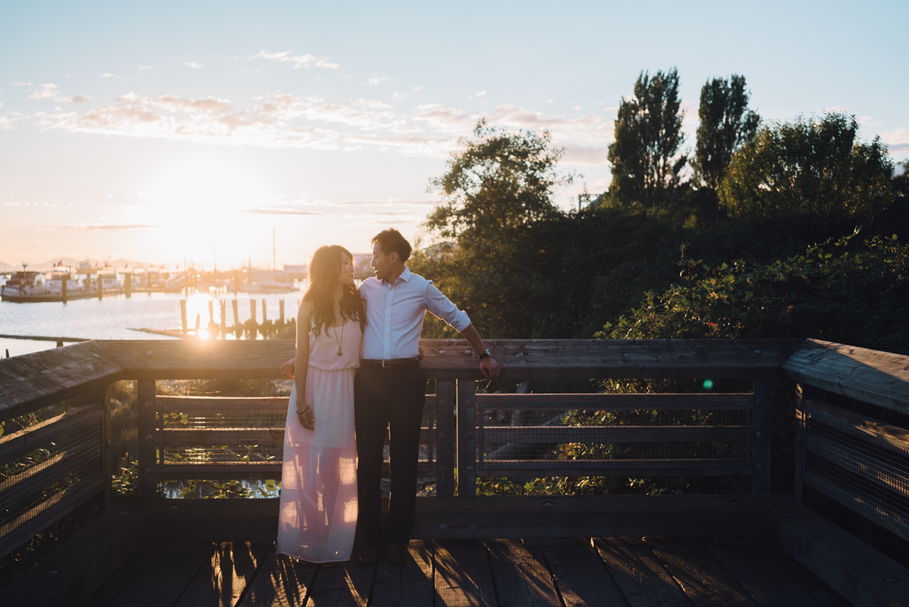 maggie & stephen engagement shoot steveston village richmond bc british columbia beach wedding photography photographer best