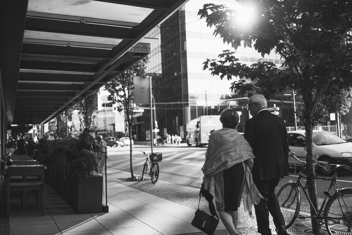 downtown walk vancouver wedding